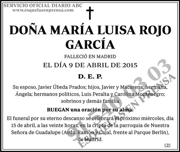 María Luisa Rojo García